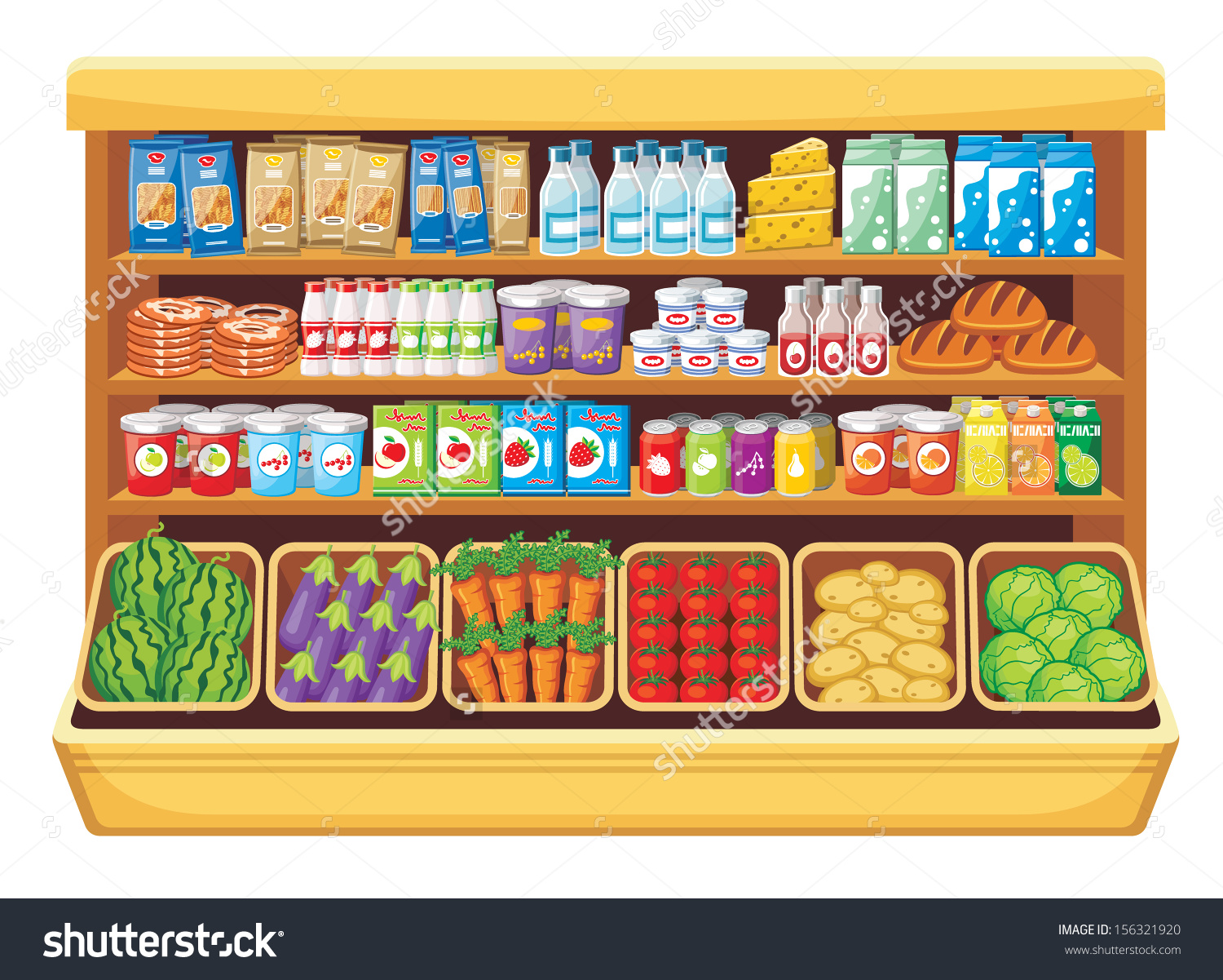 Supermarket clipart free image library Supermarket Clipart | Clipart Panda - Free Clipart Images image library