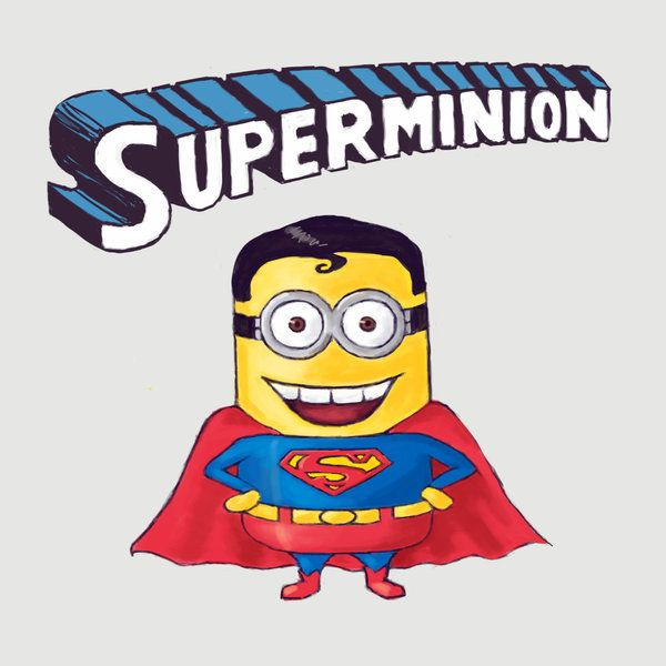 Superminion clipart image freeuse stock Superminion by ImperfectSoul.deviantart.com on @deviantART ... image freeuse stock