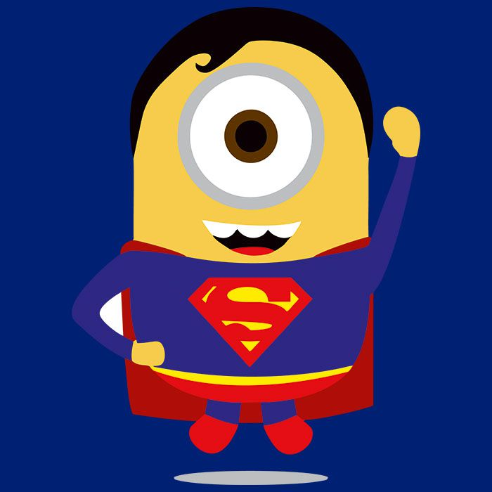Superminion clipart image freeuse download Super Minion Men\'s Full Sleeves T-Shirt Royal Blue image freeuse download