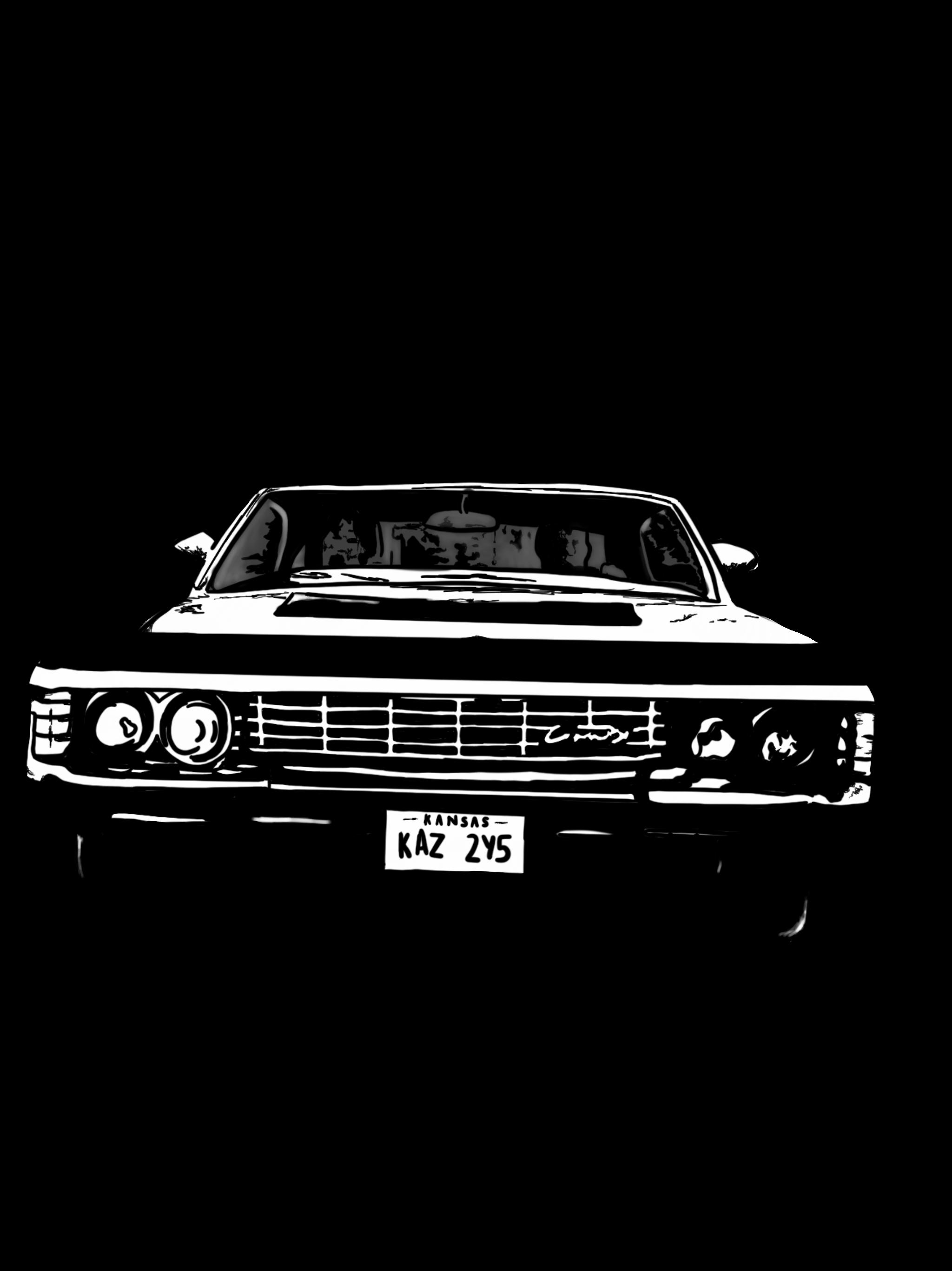 Supernatural car clipart graphic transparent 1967 Chevy Impala | My Art ❤ | Pinterest | 1967 chevy impala graphic transparent