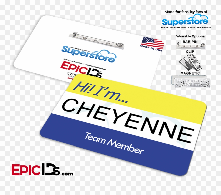 Superstore clipart png free Superstore Name Tag Mockup - Cloud 9 Name Tag Clipart ... png free