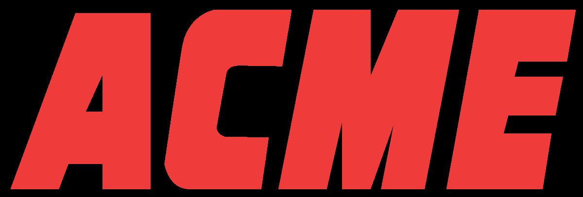 Supervalu logo clipart graphic transparent download Acme Markets - Wikipedia graphic transparent download