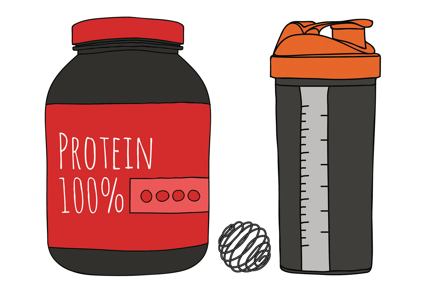 Supplement powder clipart picture free How to get the stink out of your protein shaker picture free