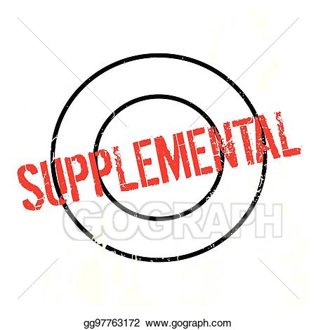Supplemental clipart clip royalty free stock EPS Illustration - Supplemental rubber stamp. Vector Clipart ... clip royalty free stock