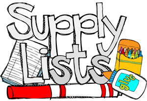 Supply list clipart graphic library stock School supply list clipart - ClipartFest graphic library stock