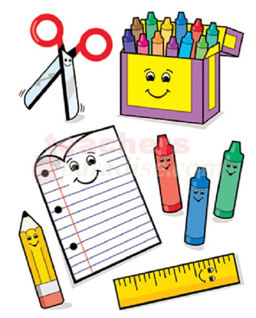 Supply list clipart banner transparent Main Office / General School Supply List banner transparent