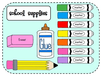 Supply list clipart clipart transparent download School Supply Clipart & School Supply Clip Art Images - ClipartALL.com clipart transparent download