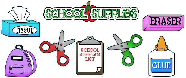 Supply list clipart vector freeuse download 1st Grade Supply List - Hokes Bluff Elementary School vector freeuse download