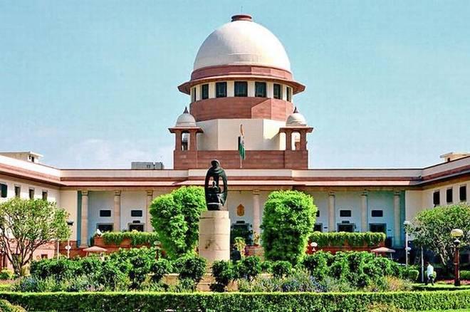 Supreme law of the land clipart vector black and white Supreme Court landmark verdict on illegal possession of ... vector black and white