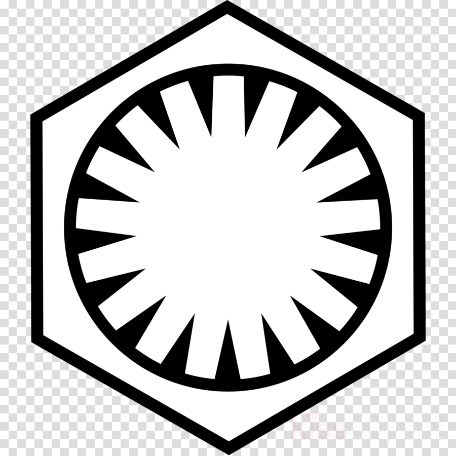 Supreme leader clipart graphic black and white Download first order logo png clipart Supreme Leader Snoke ... graphic black and white