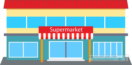 Suprmarket clipart clipart black and white Supermarket clipart » Clipart Portal clipart black and white