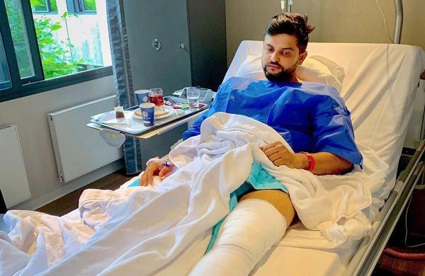 Suresh raina clipart vector freeuse stock Second knee surgery was a tough call to make: Suresh Raina ... vector freeuse stock