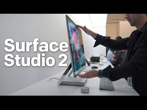 Surface studio clipart clipart black and white download Surface Studio 2 hands-on: A powerful and impressive upgrade ... clipart black and white download