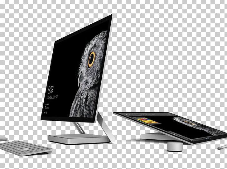 Surface studio clipart freeuse download Microsoft Surface Studio Intel Core I7 Desktop Computers PNG ... freeuse download