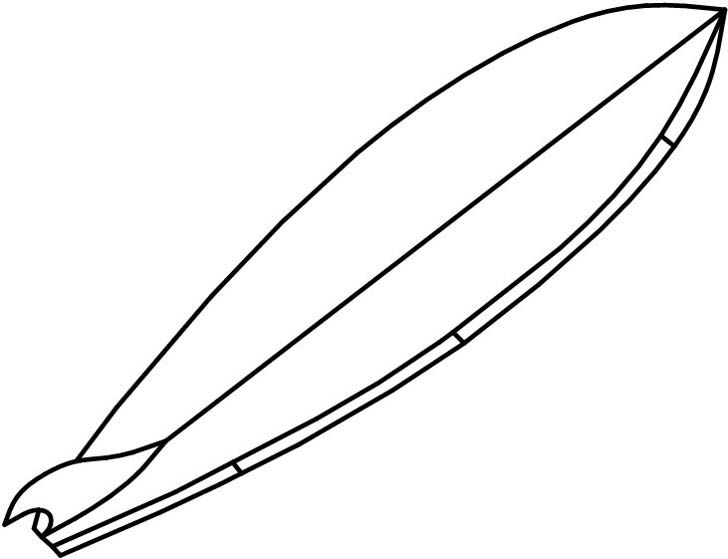 Surfboard clipart black and white image black and white Surf Board Template Black And White - ClipArt Best image black and white
