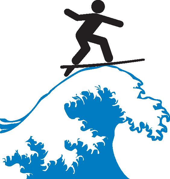 Surfboard clipart free vector royalty free Surf Clip Art at Clker.com - vector clip art online, royalty free ... vector royalty free