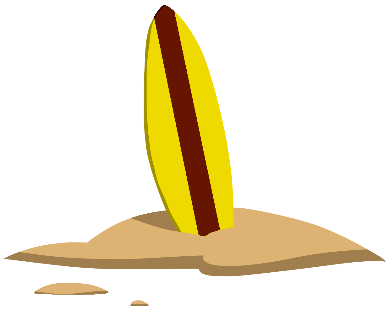 Surfboard clipart png png royalty free library Cartoon Surfboard | Free Download Clip Art | Free Clip Art | on ... png royalty free library