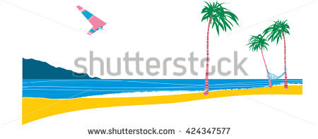 Surfboard clipart standing palm tree graphic transparent download Surfboard With Palm Trees Stock Photos, Royalty-Free Images ... graphic transparent download