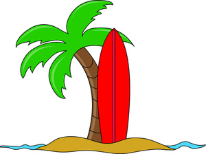 Surfboard clipart standing palm tree graphic download Surfboard clipart standing palm tree - ClipartFest graphic download