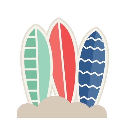Surfboard clipart transparent