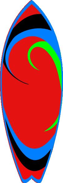 Surfboard clipart transparent background