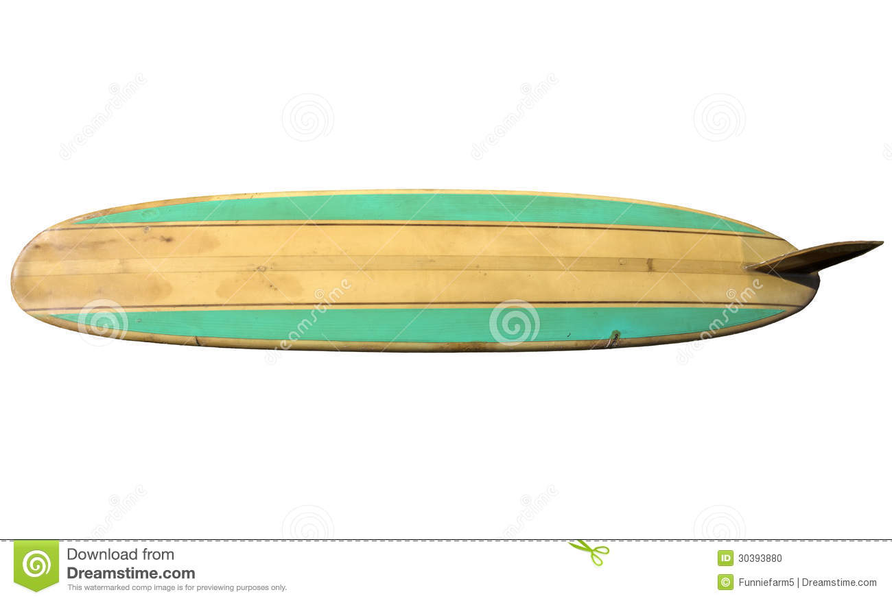 Surfboard clipart transparent background png free download Vintage Surfboard Isolated On White Stock Photo - Image: 30393880 png free download
