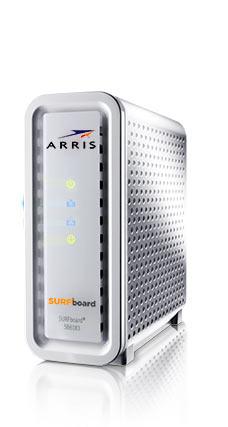 Surfboard modem jpg stock Home - ARRIS SURFboard jpg stock