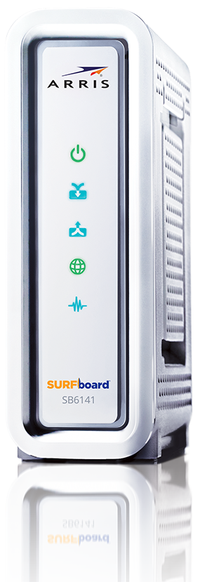 Surfboard modem clip transparent library SURFboard DOCSIS 3.0 Cable Modem SB6141 - ARRIS SURFboard clip transparent library