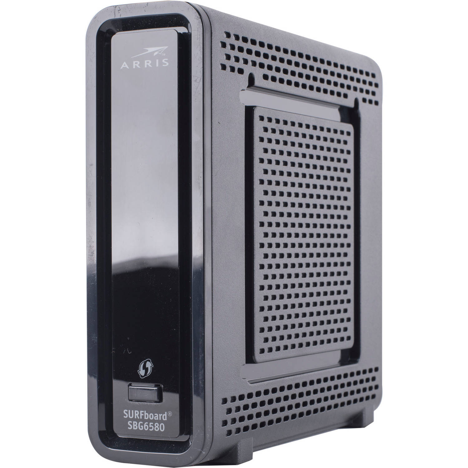 Surfboard modem jpg black and white ARRIS SURFboard SBG6580 DOCSIS 3.0 Cable Modem / N600 Wi-Fi Router ... jpg black and white