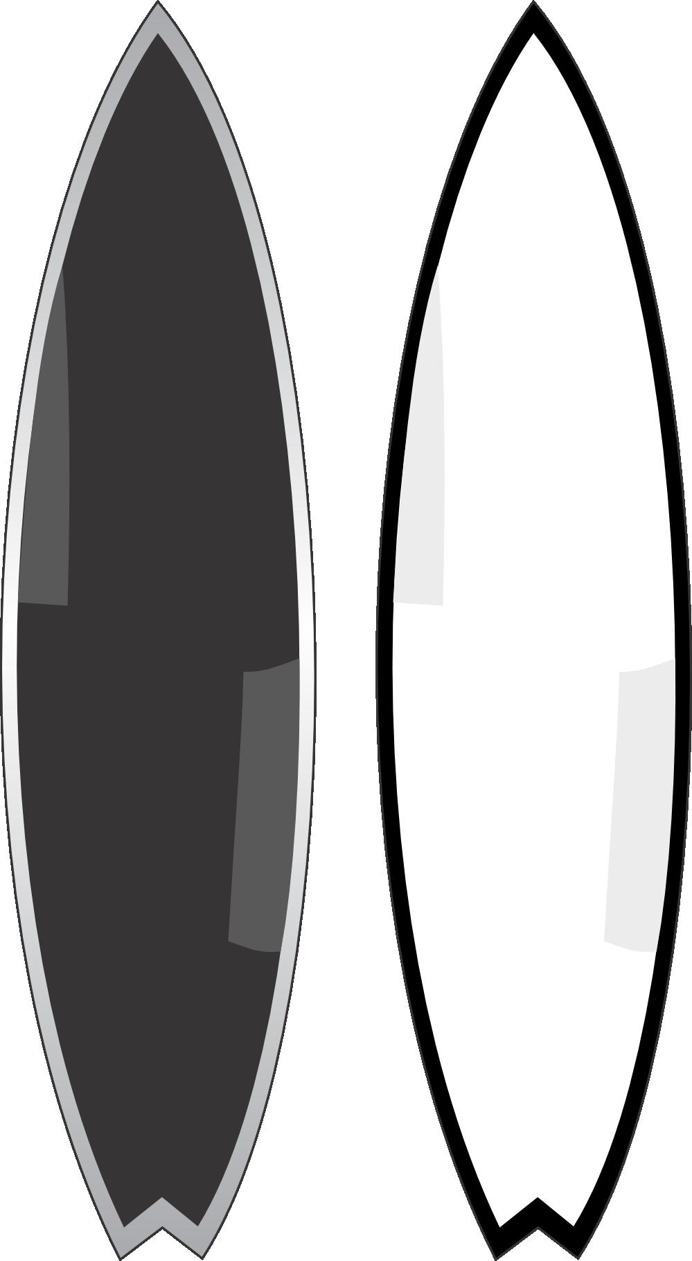 Surfboard outline clip art graphic transparent clipartist.net » Clip Art » surf boards super duper SVG graphic transparent