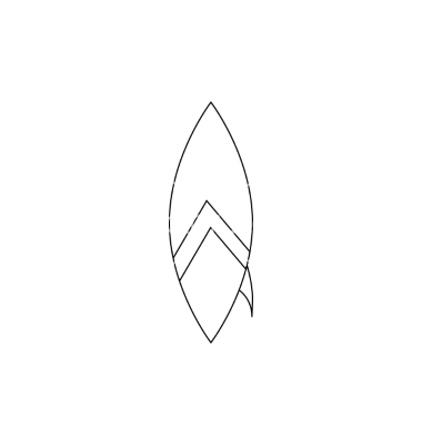Surfboard outline clipart royalty free Surfboard Vector Images (over 4,470) - VectorStock royalty free
