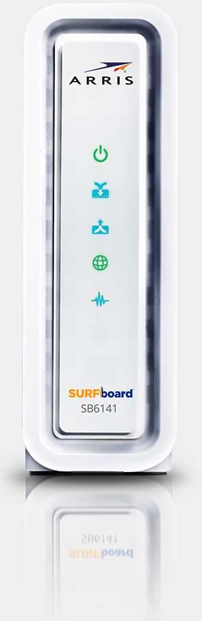 Surfboard sb6141 graphic free SURFboard DOCSIS 3.0 Cable Modem SB6141 - ARRIS SURFboard graphic free