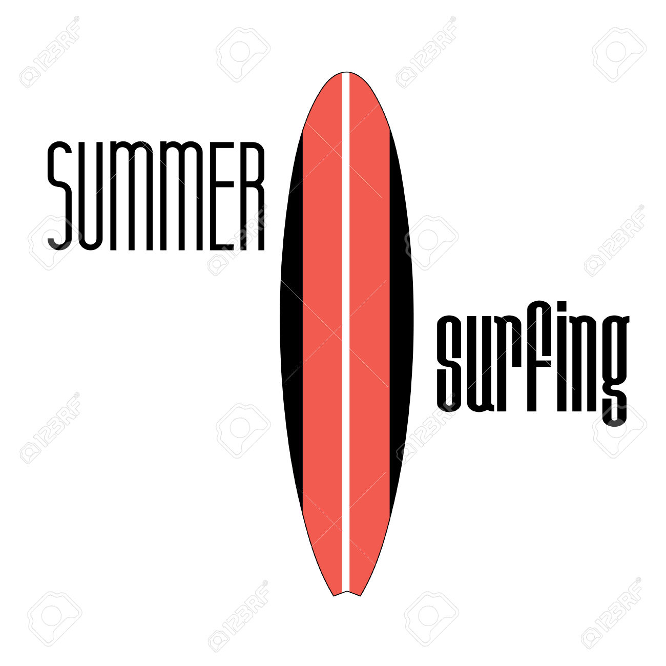Surfboard signs background clipart vector freeuse library Graphic Sign Surfboard On A White Background Royalty Free Cliparts ... vector freeuse library