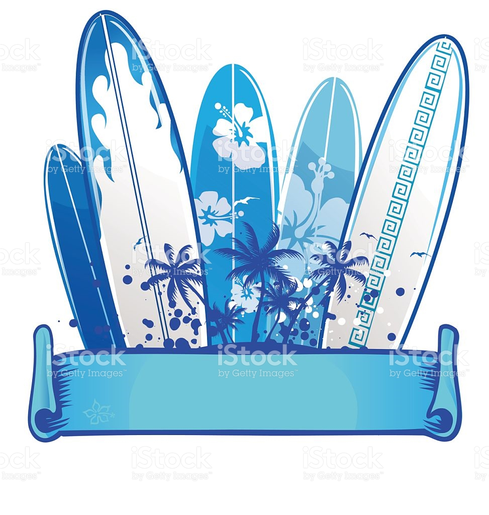 Surfboard signs background clipart graphic library Surfboard Background stock vector art 468075014 | iStock graphic library