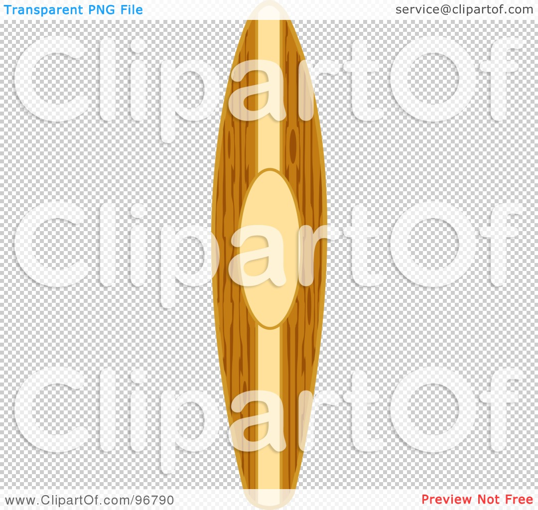 Surfboard transparent background clipart vector free Royalty-Free (RF) Clipart Illustration of a Vertical Wooden ... vector free