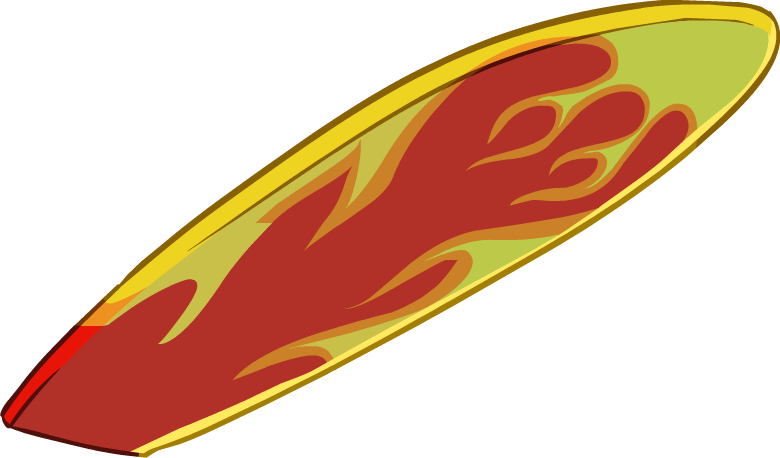 Surfboard transparent background clipart clipart download Image - Fire Surfboard.png   Club Penguin Wiki   FANDOM powered by Wikia clipart download