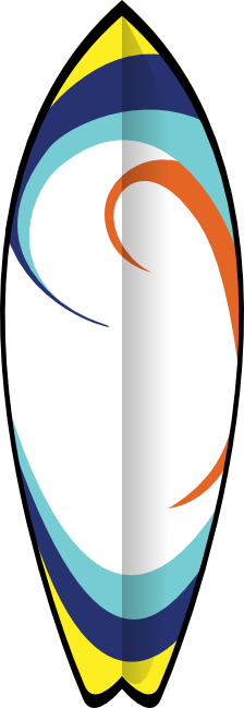 Surfboard transparent background clipart image freeuse stock Free Water Sports Clipart - Surfing, Water Skiing & Scuba Diving image freeuse stock