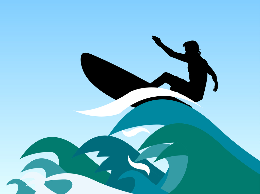 Surfer border clipart graphic free stock Free Ocean Wave Clipart, Download Free Clip Art, Free Clip ... graphic free stock