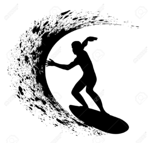 Surfer clipart images graphic free Free Surfer Clipart | Free Images at Clker.com - vector clip ... graphic free
