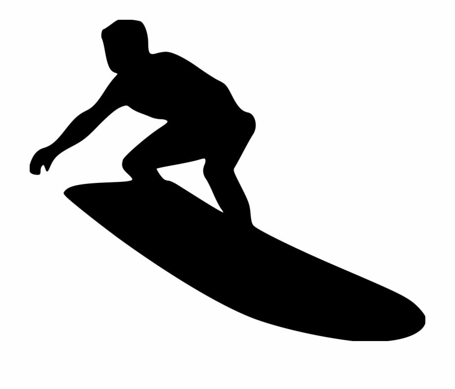Surfer clipart png png transparent Surfer On A Wave - Surfer Silhouette Free PNG Images ... png transparent