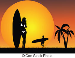 Surfers paradise clipart svg freeuse library Surfers paradise Illustrations and Clipart. 6,408 Surfers ... svg freeuse library