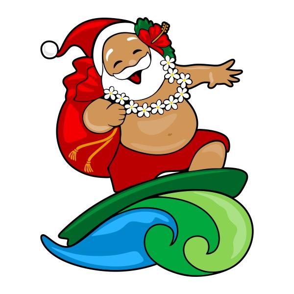 Surfing santa clipart royalty free Free Hawaiian Santa Cliparts, Download Free Clip Art, Free ... royalty free