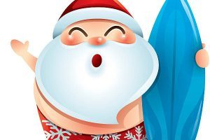 Surfing santa clipart graphic freeuse download Santa surfing clipart 1 » Clipart Portal graphic freeuse download