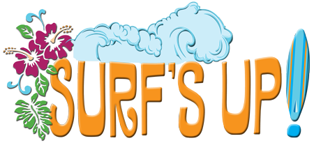 Surf-s up clipart vector library library By Ken Levine: SURF\'S UP follow up vector library library