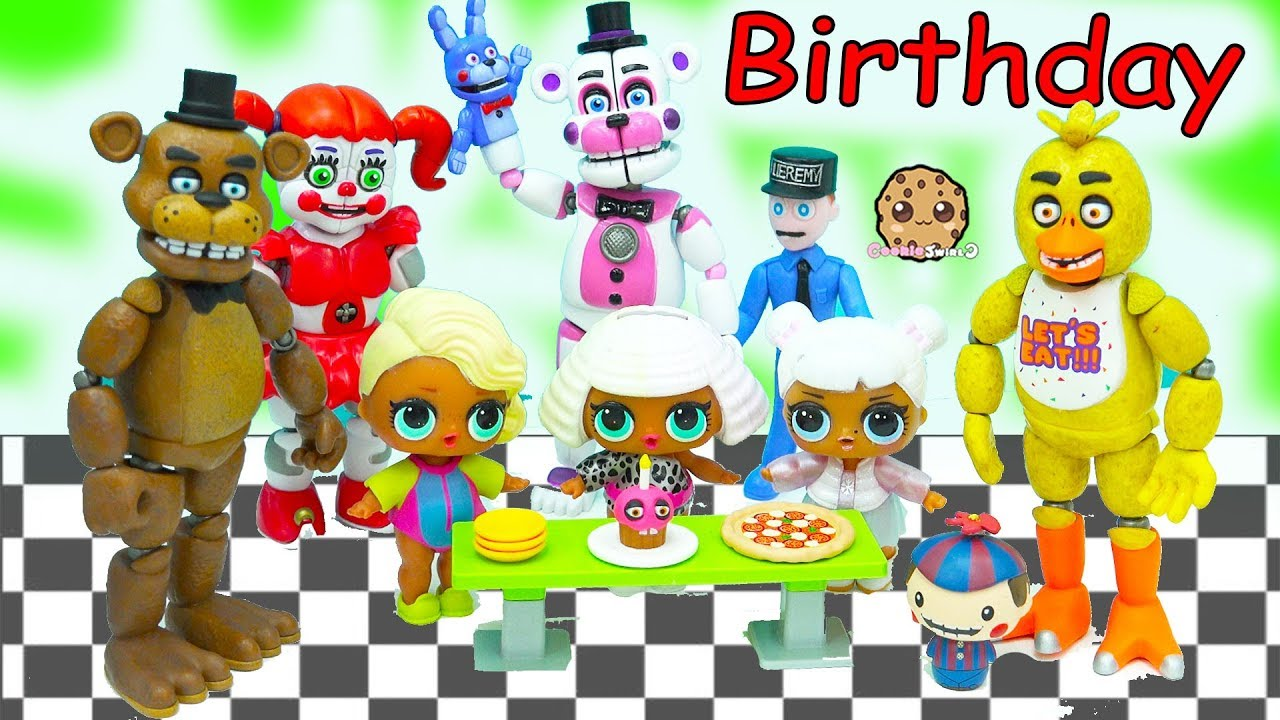 Surprise birthday openhouse clipart picture royalty free download LOL Surprise Wave 2 Big Sister Blind Bag Ball Birthday Party with Five  Nights At Freddy\'s picture royalty free download
