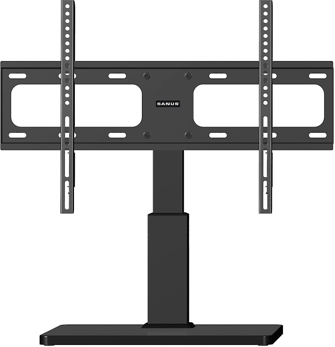 Surround sound on pedestal clipart clip black and white Sanus VSTV1 clip black and white