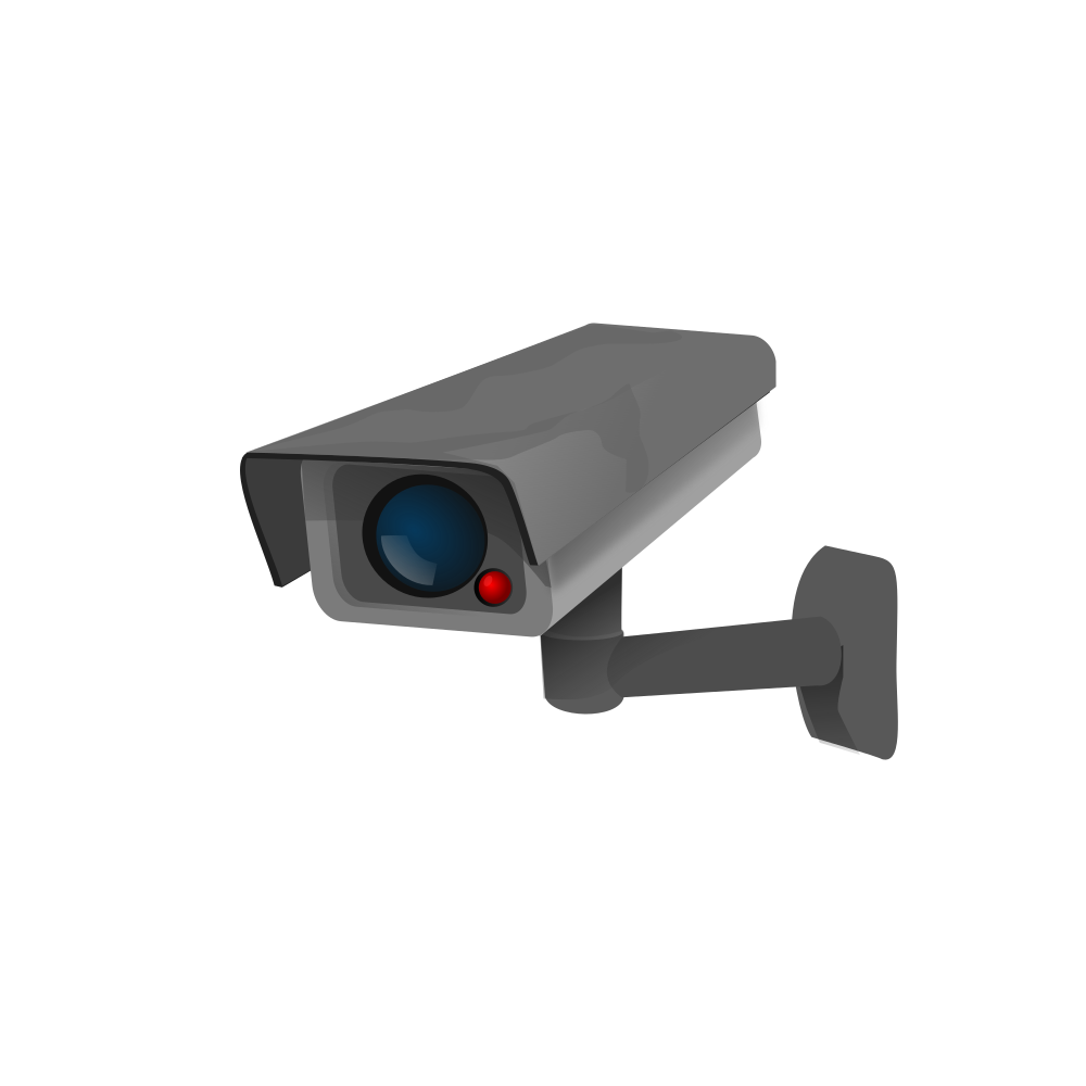 Surveillance cameras cliparts banner free stock OnlineLabels Clip Art - Surveillance Camera banner free stock