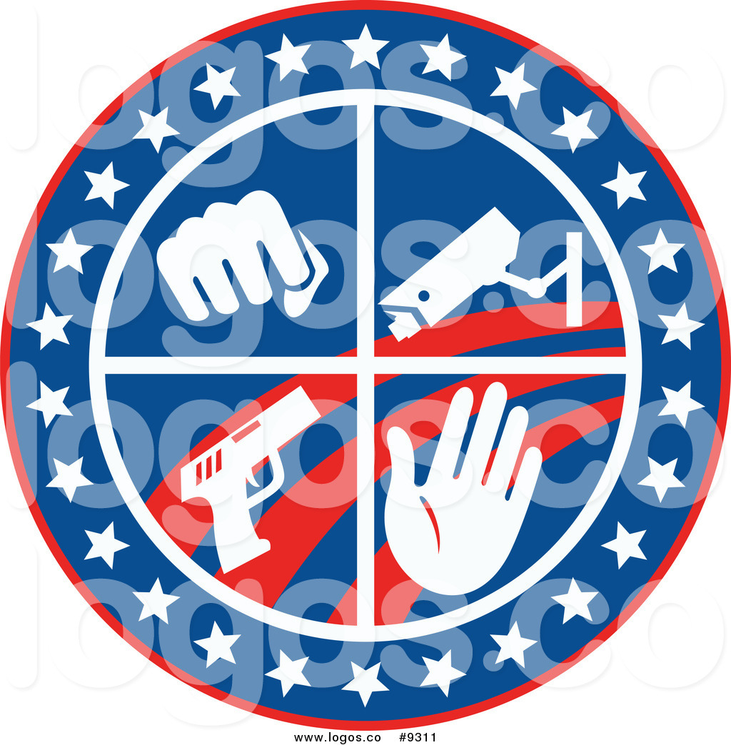 Surveillance van clipart svg free Royalty Free Clip Art Vector Logo of a Fist Surveillance ... svg free