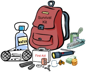 Survival items clipart clip art black and white Emergency clipart survival gear - 188 clip arts for free ... clip art black and white