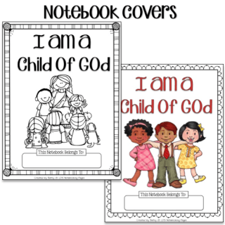Susan finch clipart graphic freeuse stock I Am a Child of God Tracing, Mini-books and Copywork – LDS ... graphic freeuse stock
